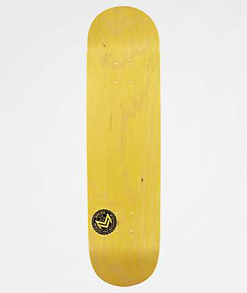 "Mini Logo Chevron Stamp Yellow 8.5"" Skateboard Deck"