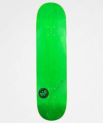 "Mini Logo Green Chevron 8.0"" Skateboard Deck"