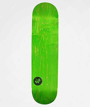 "Mini Logo Green Chevron 8.5"" Skateboard Deck"