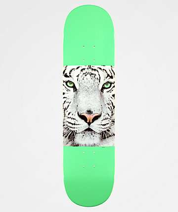 "Mini Logo Tiger Mint 8.0"" Skateboard Deck"