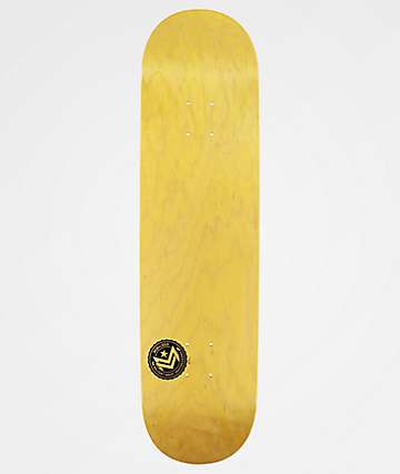 "Mini Logo Yellow Chevron 8.25"" Skateboard Deck"