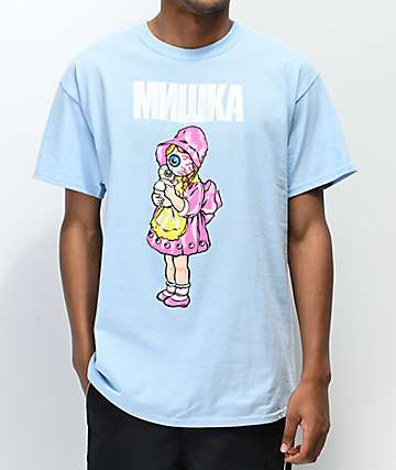 Mishka Baby Doll Light Blue T-Shirt