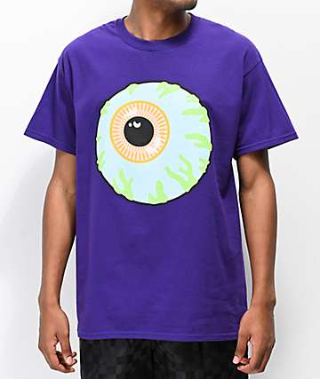 Mishka Classic Eye Purple T-Shirt