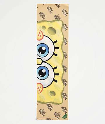Mob x SpongeBob Squarepants Eyeballs Clear Grip Tape