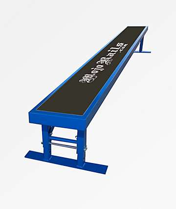 Mojo Rails Blue Skate Bench