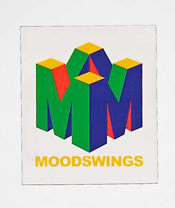 Moodswings 96 Sticker