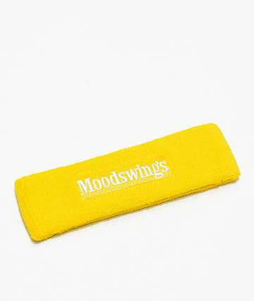 Moodswings Chess Yellow Terry Headband