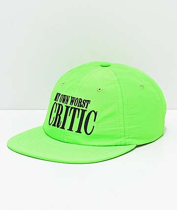 Moodswings Critic Hot Lime Strapback Hat
