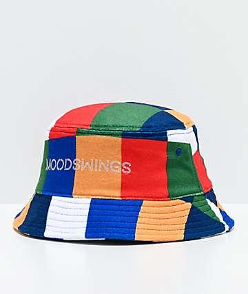 Moodswings Patchwork sombrero de cubo multicolor