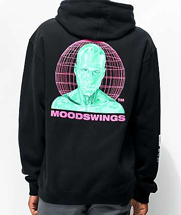 Moodswings Rated M Black Hoodie