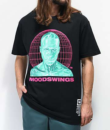 Moodswings Rated M Black T-Shirt