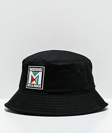 Moodswings Simon sombrero de cubo negro