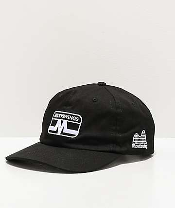 Moodswings Static Black Strapback Hat