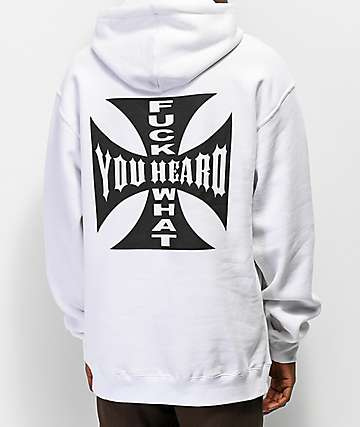 Moodswings What You Heard White Hoodie