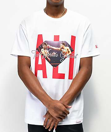 Muhammad Ali x Diamond Supply Co. Ali Sign White T-Shirt