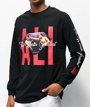 Muhammad Ali x Diamond Supply Co. Ali Sign camiseta negra de manga larga