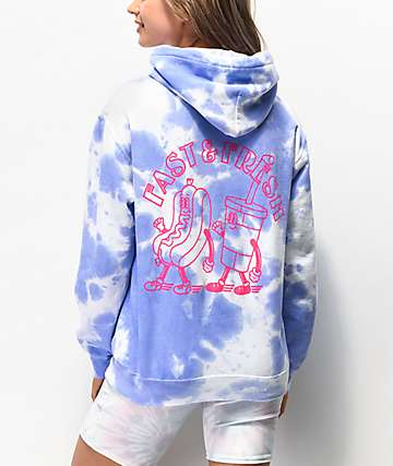 NEW girl ORDER Fast and Fresh sudadera con capucha tie dye