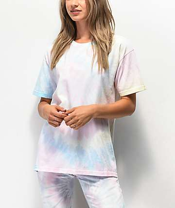 NEW girl ORDER Oversized Tie Dye T-Shirt