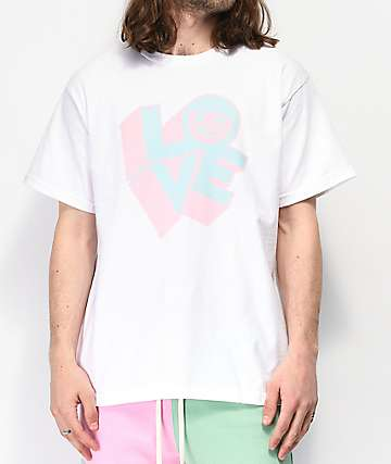 Neff 3D Love White T-Shirt