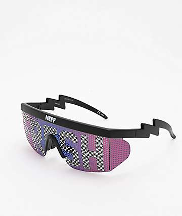 Neff Brodie Fresh Checker Single Lens Sunglasses