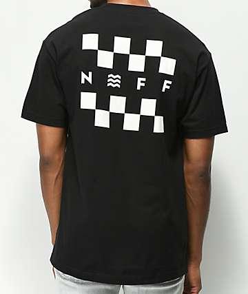 Neff Checkerboard Black T-Shirt