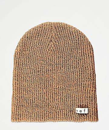 Neff Daily Heather Apricot & Grey Beanie