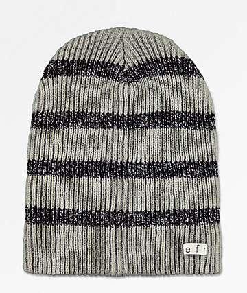 Neff Daily Sparkle Stripe Grey Beanie