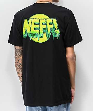 Neff Goopy Black T-Shirt