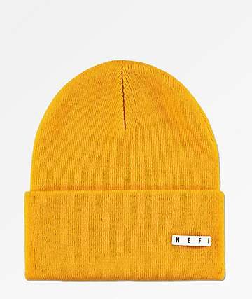 Neff Lawrence Gold Fold Beanie
