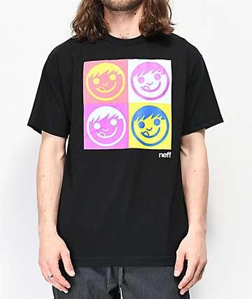 Neff Neffhol camiseta negra