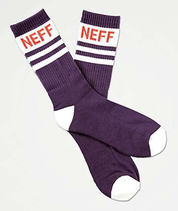 Neff Promo Vinpur Navy Crew Socks
