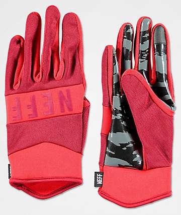 Neff Ripper Red Pipe Snowboard Gloves