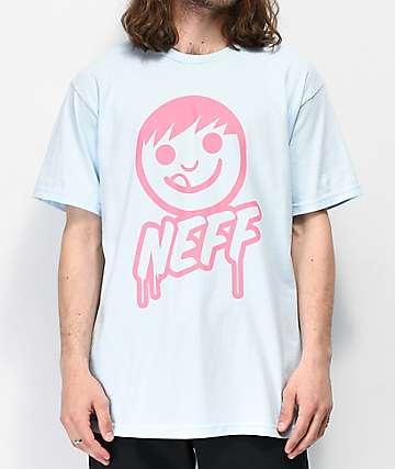 Neff Sucker Drip Light Blue T-Shirt