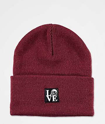 Neff Suckerface Label Sangria Beanie