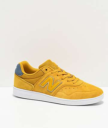 New Balance 288 Yellow & Navy Skate Shoes
