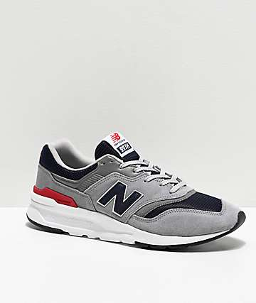 New Balance Lifestyle 997H Grey & Navy Shoes
