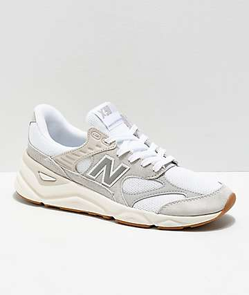 New Balance Lifestyle X90 Reconstructed Nimbus White & Moon Grey Shoes