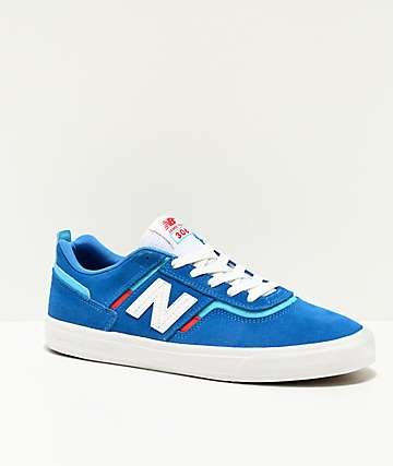 New Balance Numeric 306 Foy Blue & Red Skate Shoes