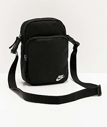 Nike Heritage 2.0 Black Shoulder Bag