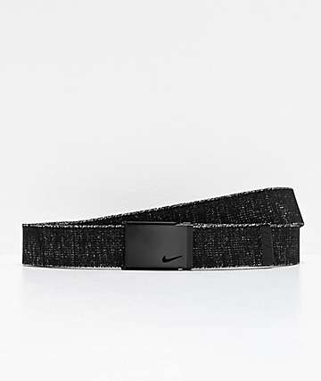 Nike Lurex Stretch Grey Web Belt