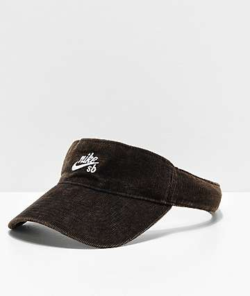 Nike SB Black Corduroy Visor