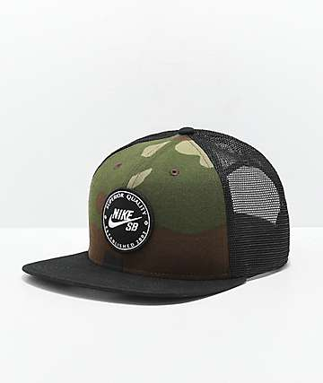 Nike SB Camo Patch Trucker Hat
