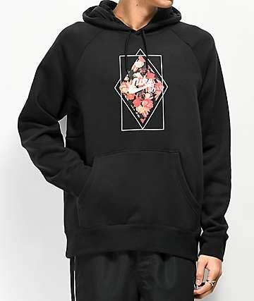 Nike SB Diamond Roses Black Hoodie
