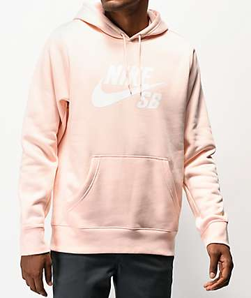 Nike SB Icon Light Pink Hoodie