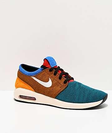 Nike SB Janoski Air Max 2 Multicolored Skate Shoes