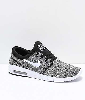 Nike SB Janoski Air Max Heather Grey Skate Shoes
