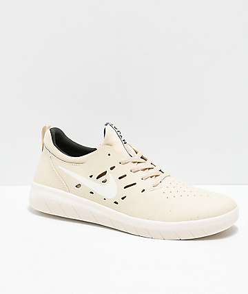 Nike SB Nyjah Free Beach & Sail Sequoia Skate Shoes