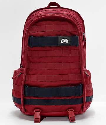 Nike SB RPM Team Red & Dark Obsidian mochila