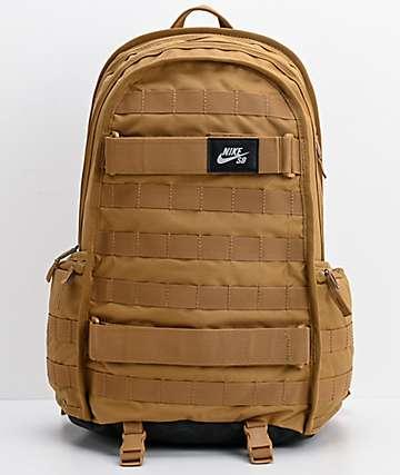 Nike SB RPM mochila beige dorado