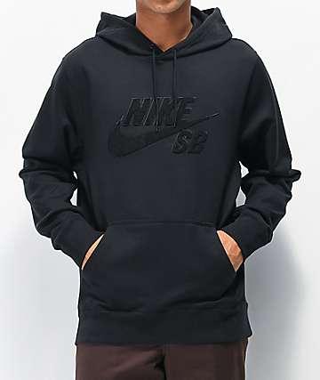 Nike SB Seasonal Black Hoodie